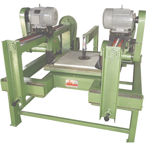 Auto Twin Saw With Rotating Table