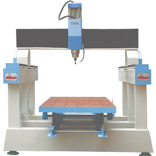 CNC Stone Pillar Engraving Machine